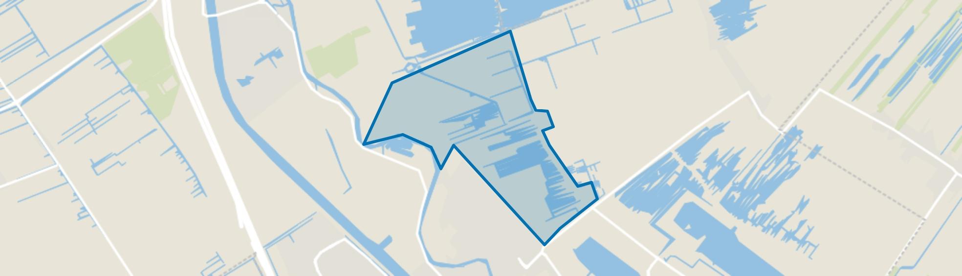 Bethunepolder-zuid, Maarssen map