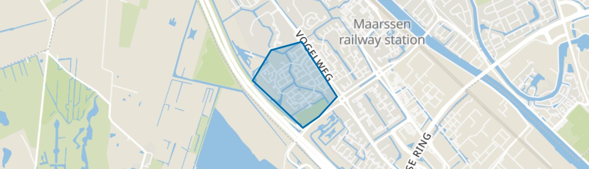 Fazantenkamp, Maarssen map