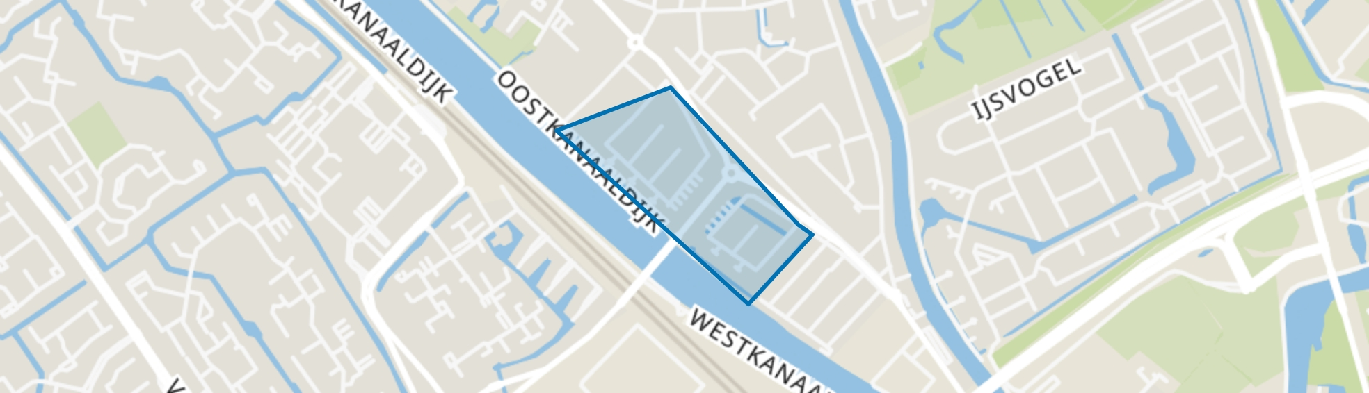 Hogebrug, Maarssen map