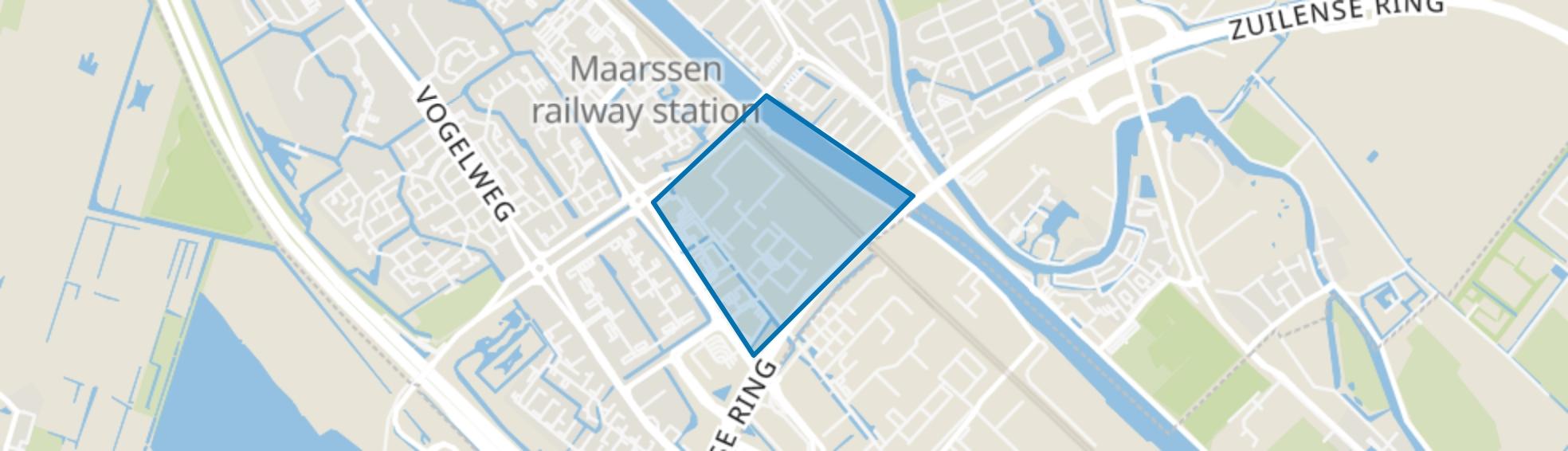 Industrieterrein Maarssenbroek, Maarssen map