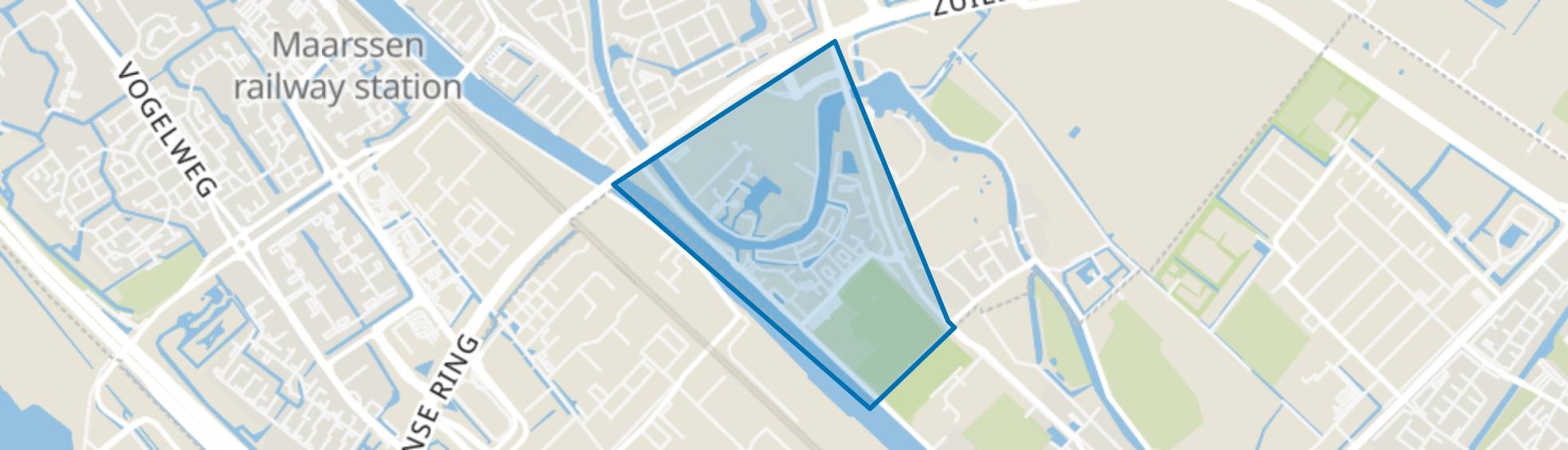 Op Buuren, Maarssen map