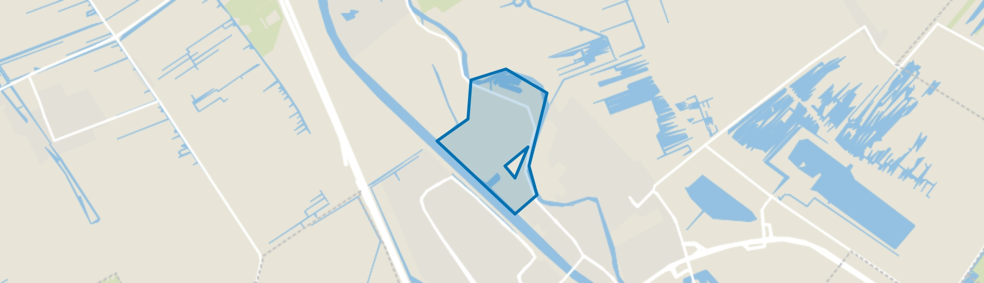 Otterspoorbroek, Maarssen map