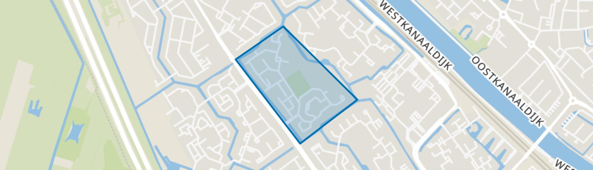 Pauwenkamp, Maarssen map