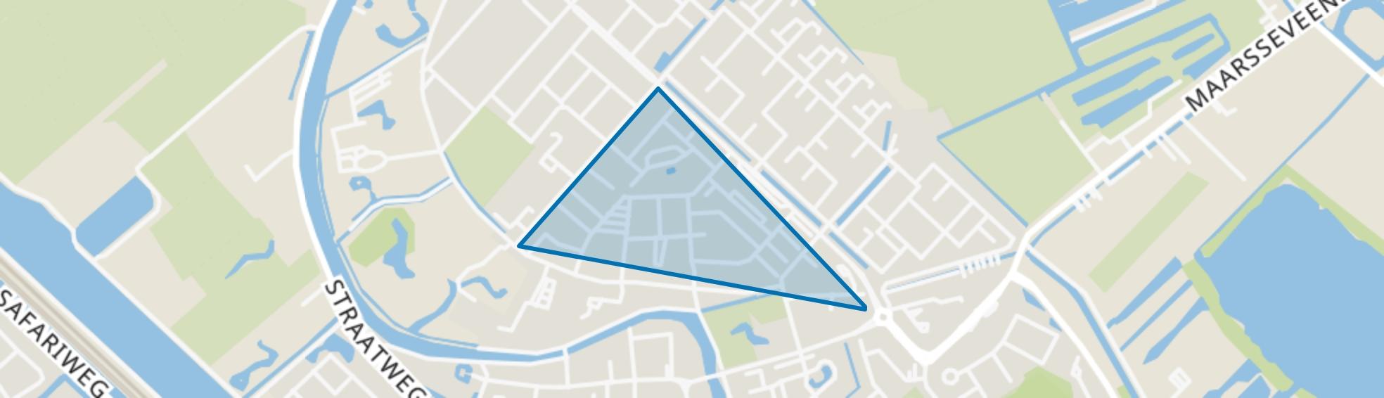 Schilderskwartier, Maarssen map