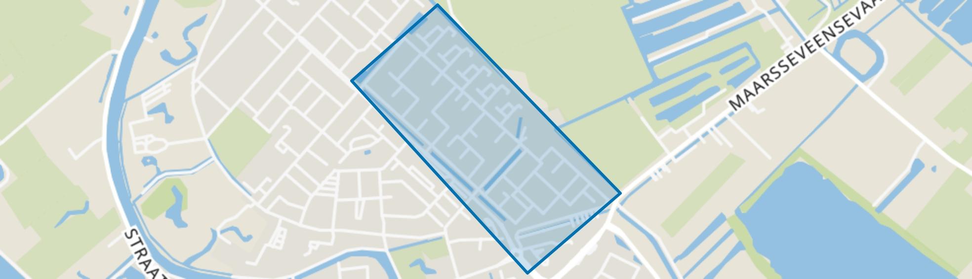 Staatsliedenbuurt, Maarssen map