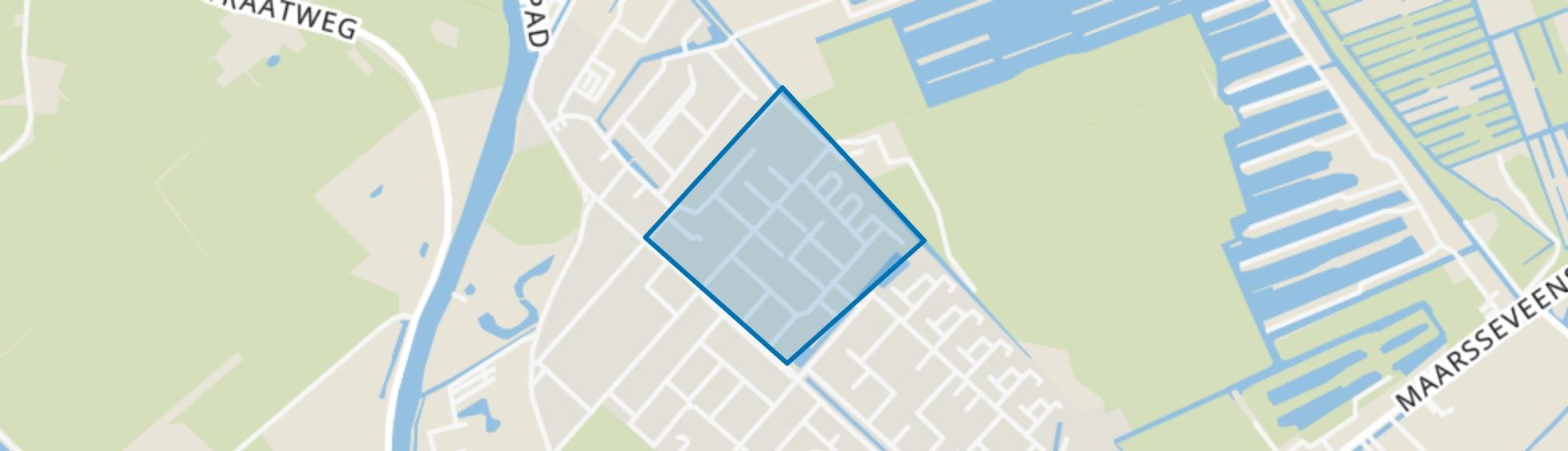 Zeeheldenbuurt, Maarssen map