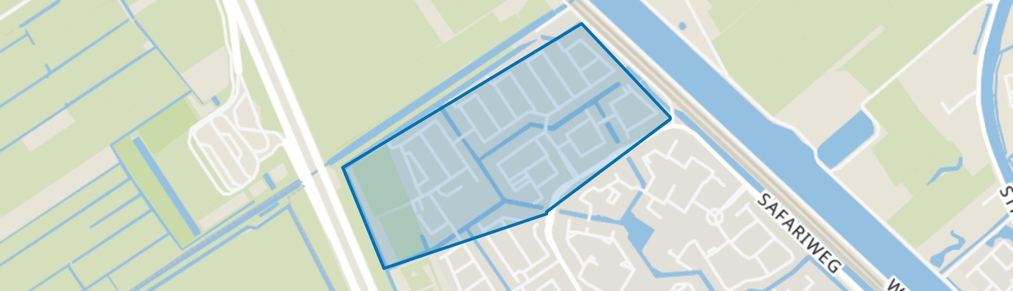 Zwanenkamp, Maarssen map