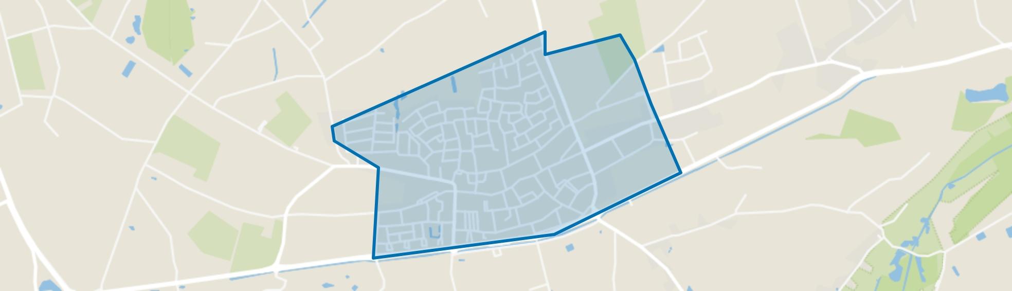 Maasbree, Maasbree map