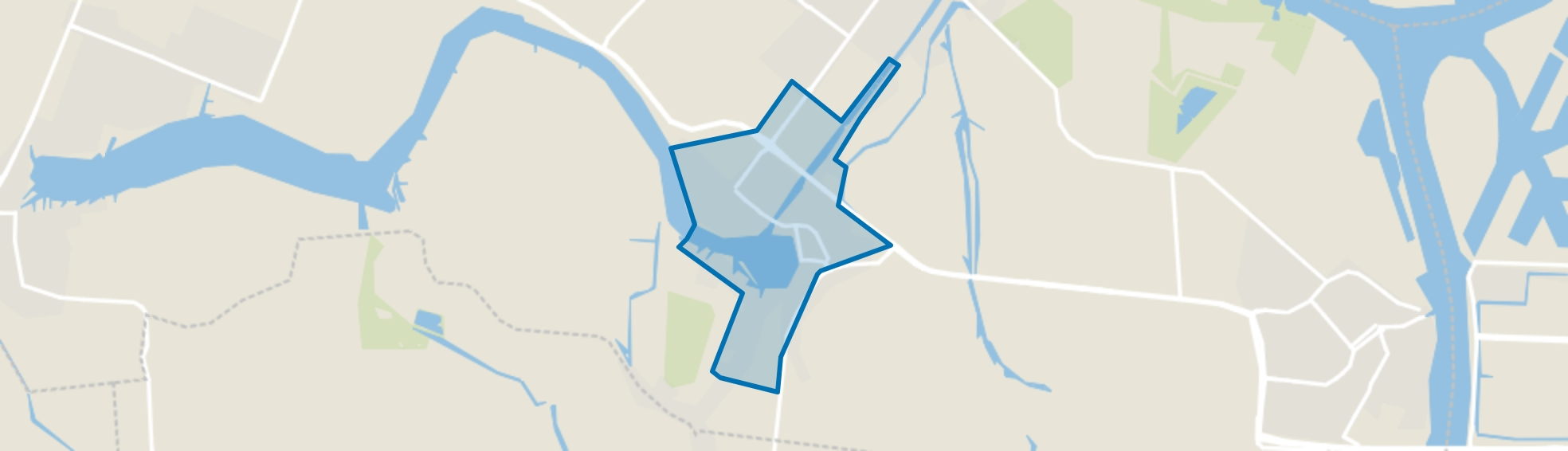 Maasdam Woonkern, Maasdam map
