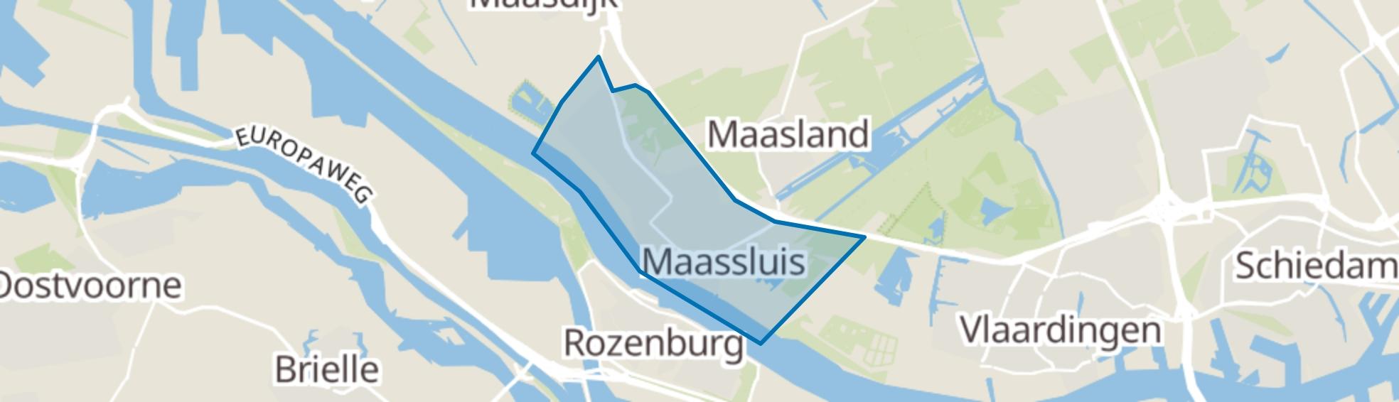 Maassluis map