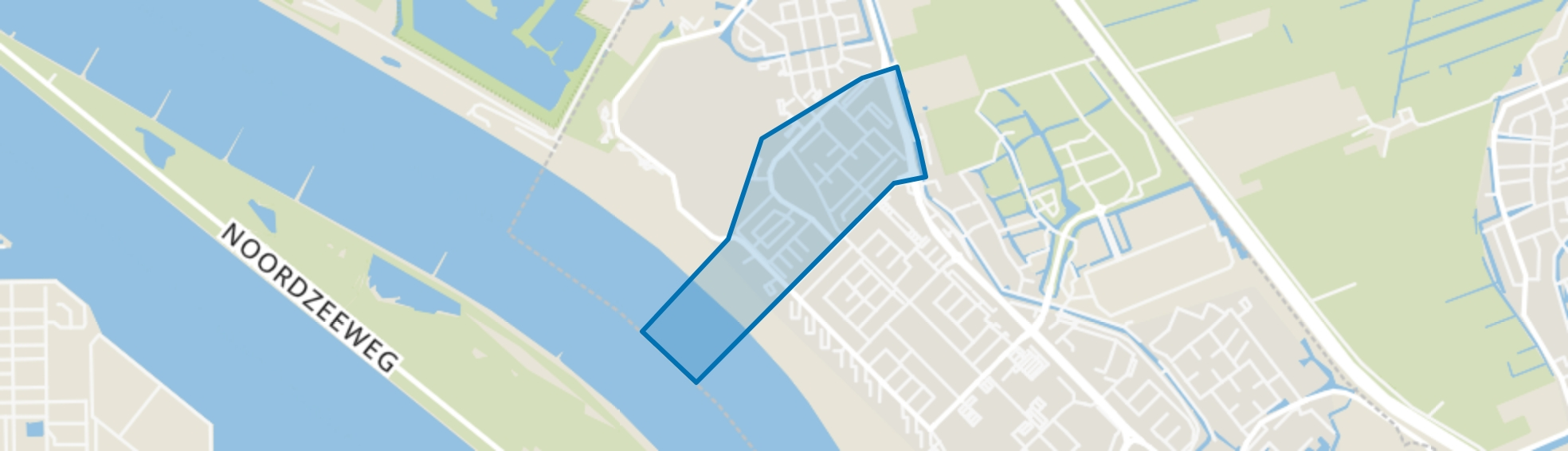 Burgemeesterswijk, Maassluis map