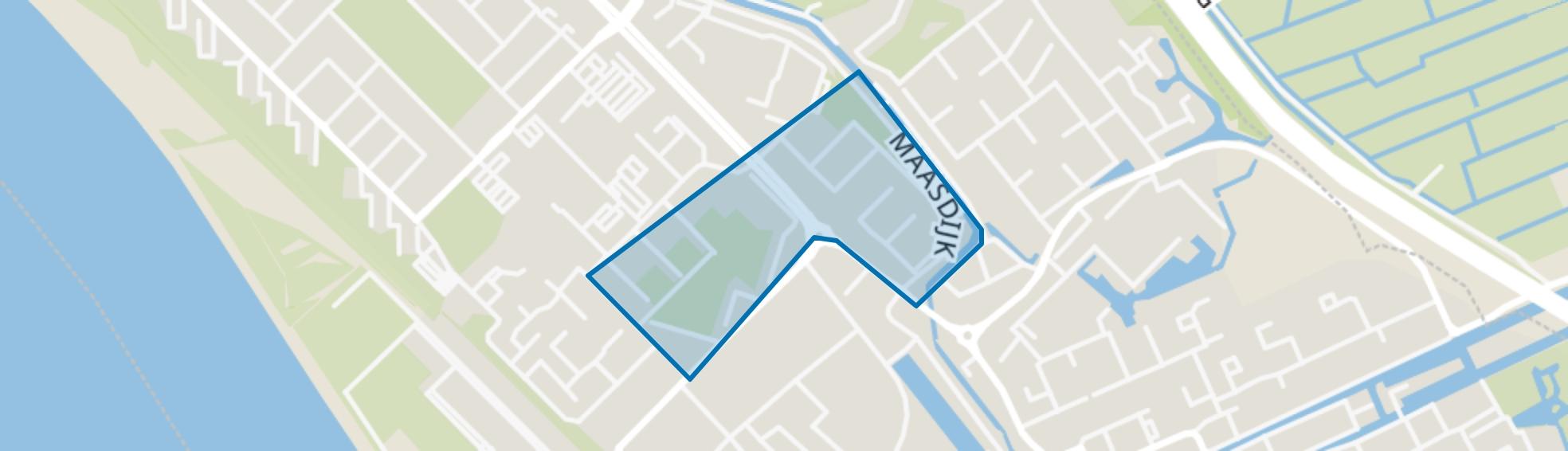 Componistenbuurt, Maassluis map