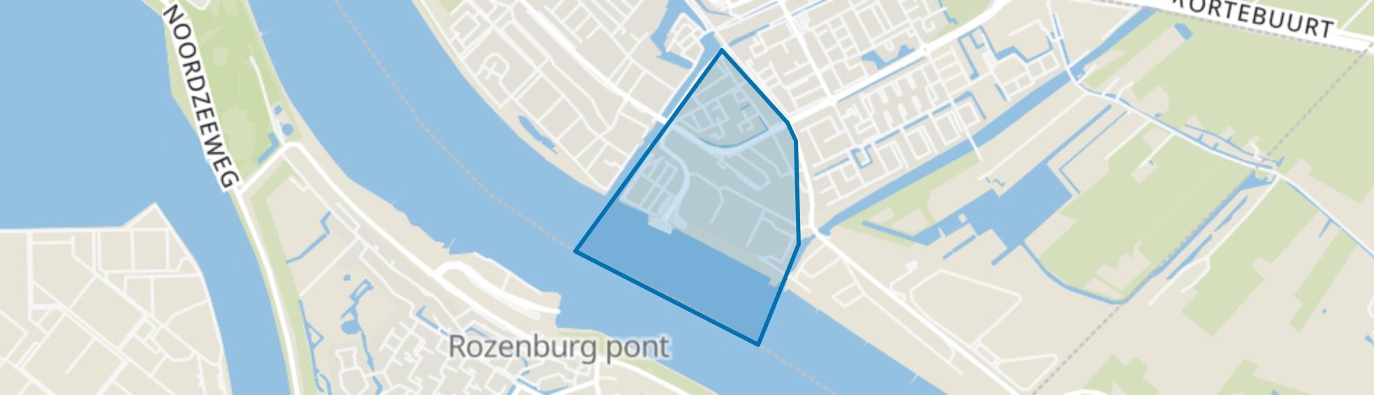 Taanschuurpolder, Maassluis map