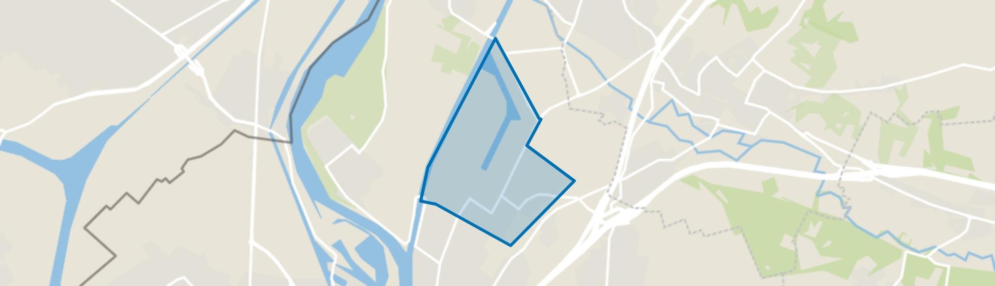 Beatrixhaven, Maastricht map