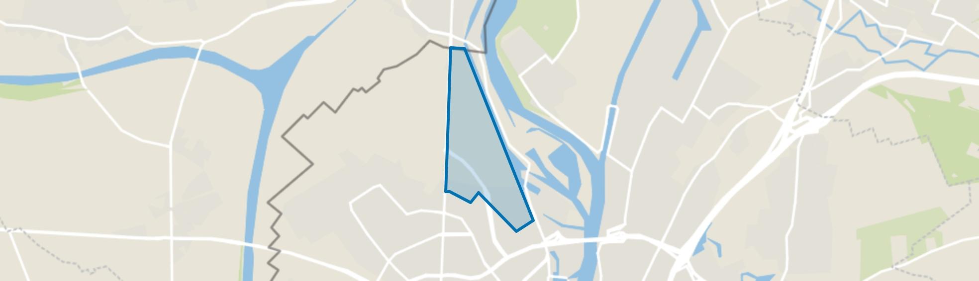 Belvédère, Maastricht map