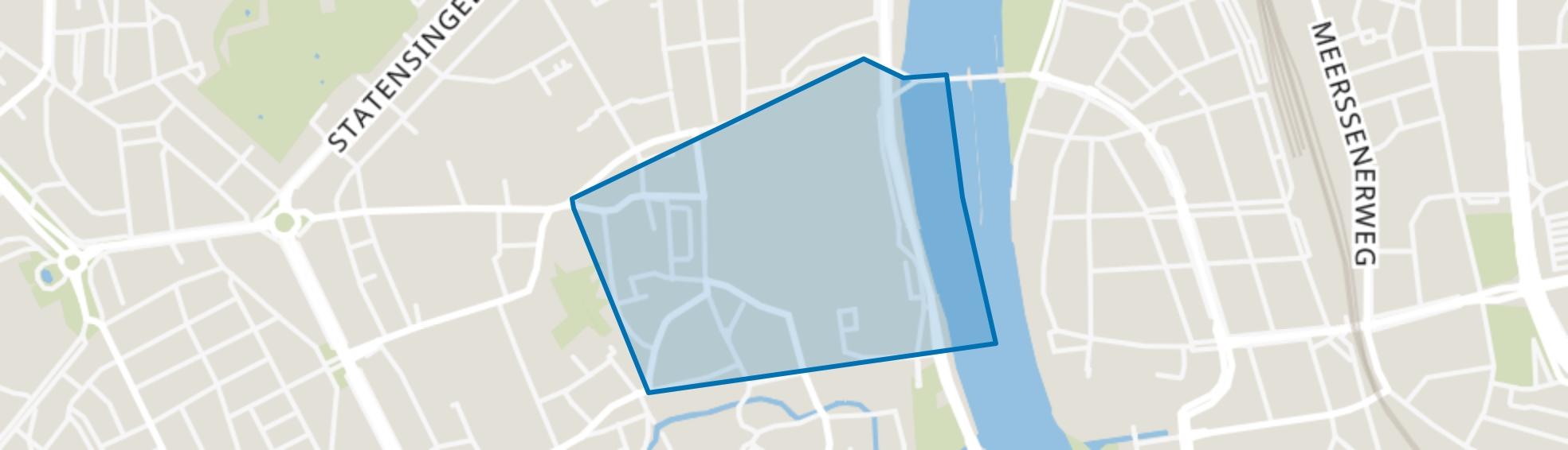 Binnenstad, Maastricht map