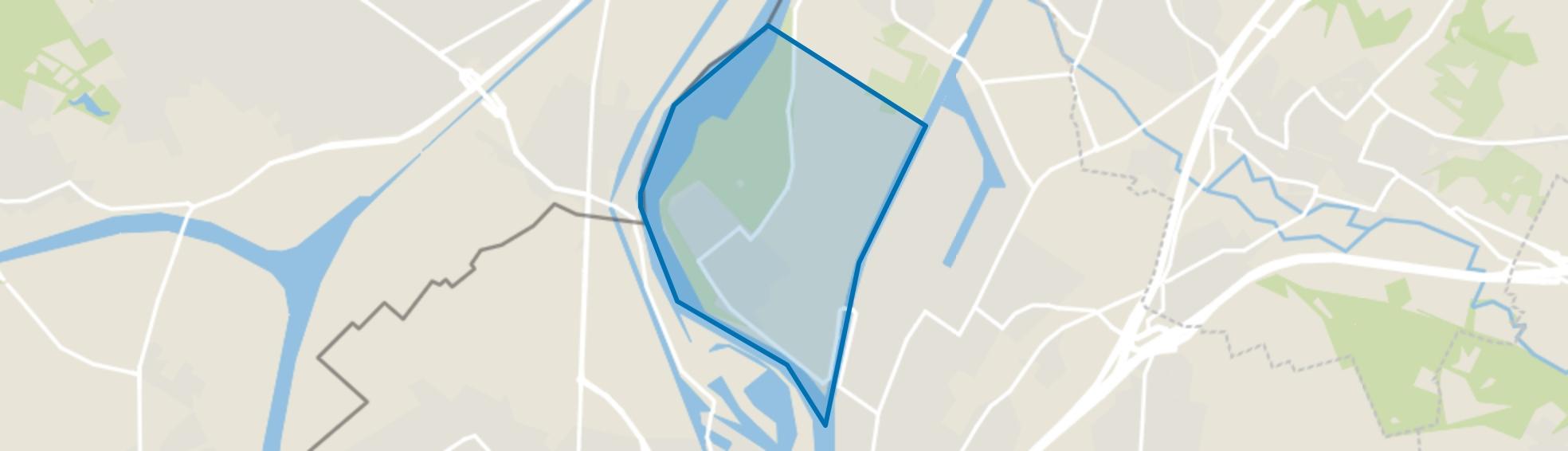 Borgharen, Maastricht map
