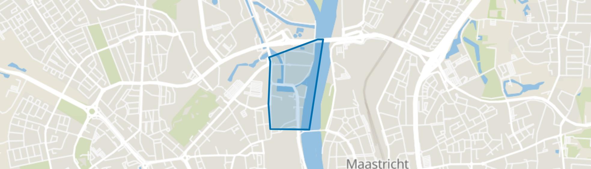 Boschstraatkwartier, Maastricht map