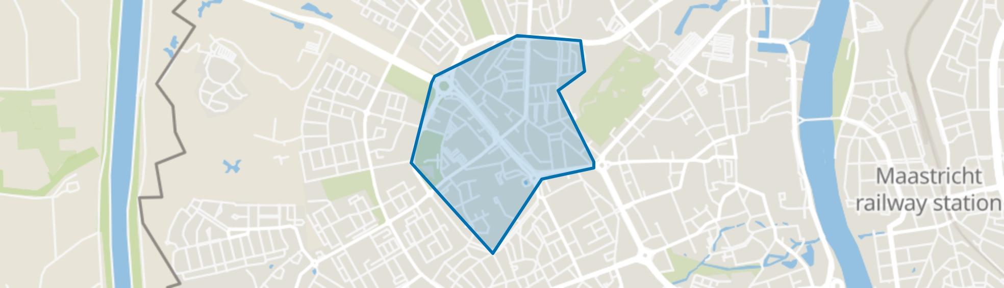 Brusselsepoort, Maastricht map