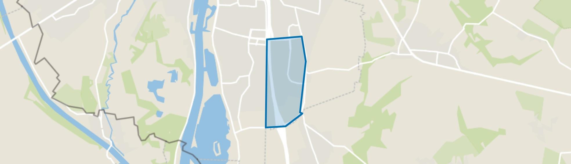 De Heeg, Maastricht map