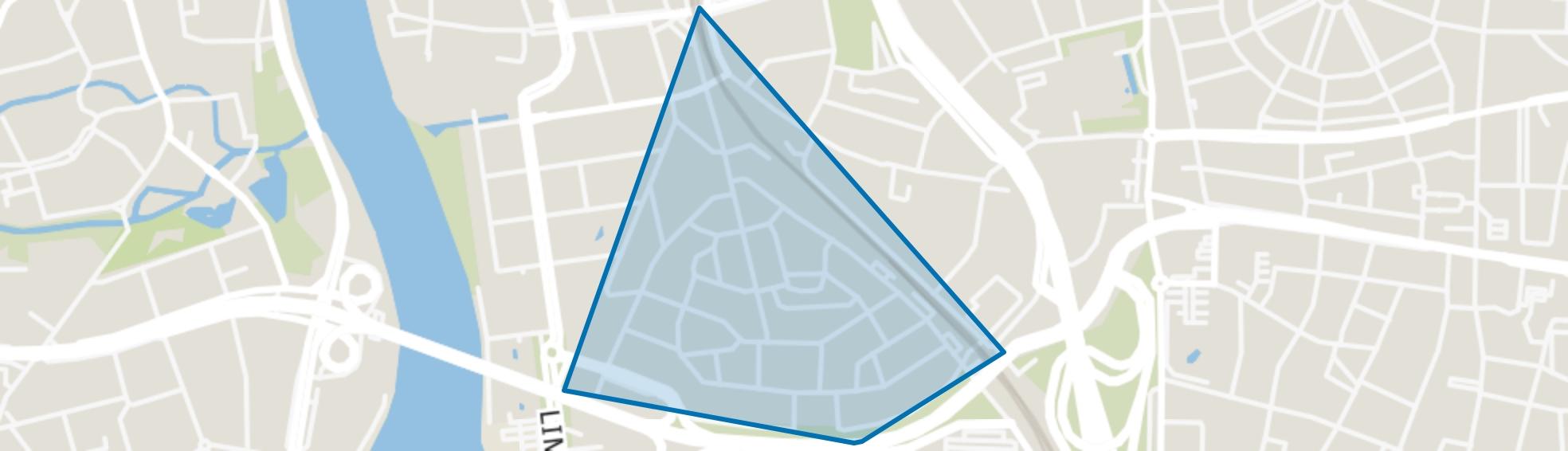 Heugemerveld, Maastricht map
