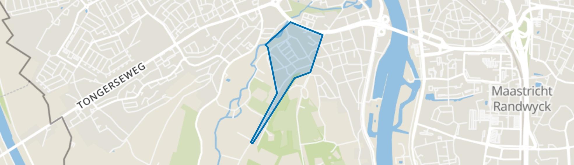 Jekerdal, Maastricht map