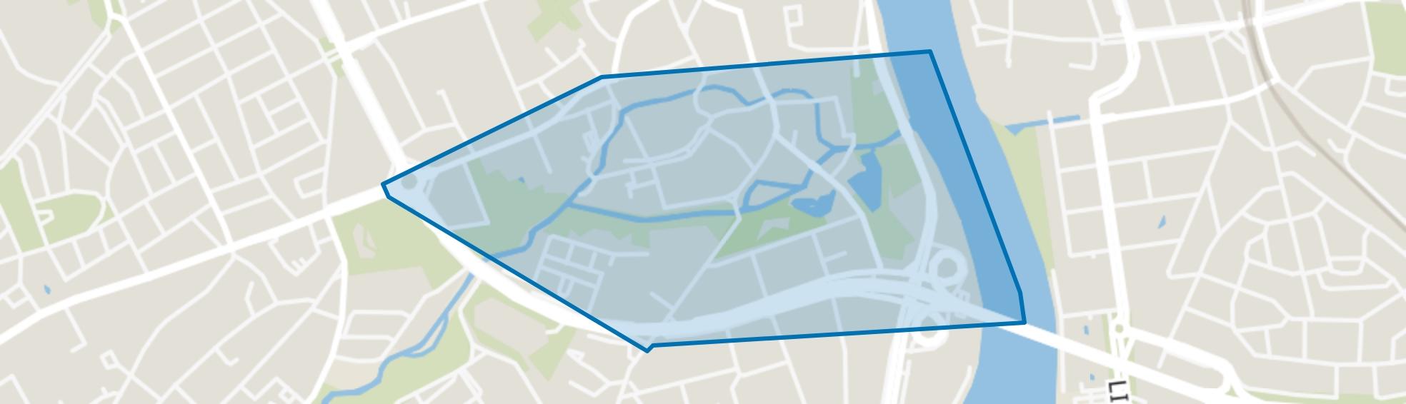 Jekerkwartier, Maastricht map