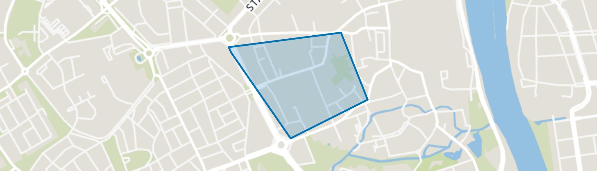 Kommelkwartier, Maastricht map