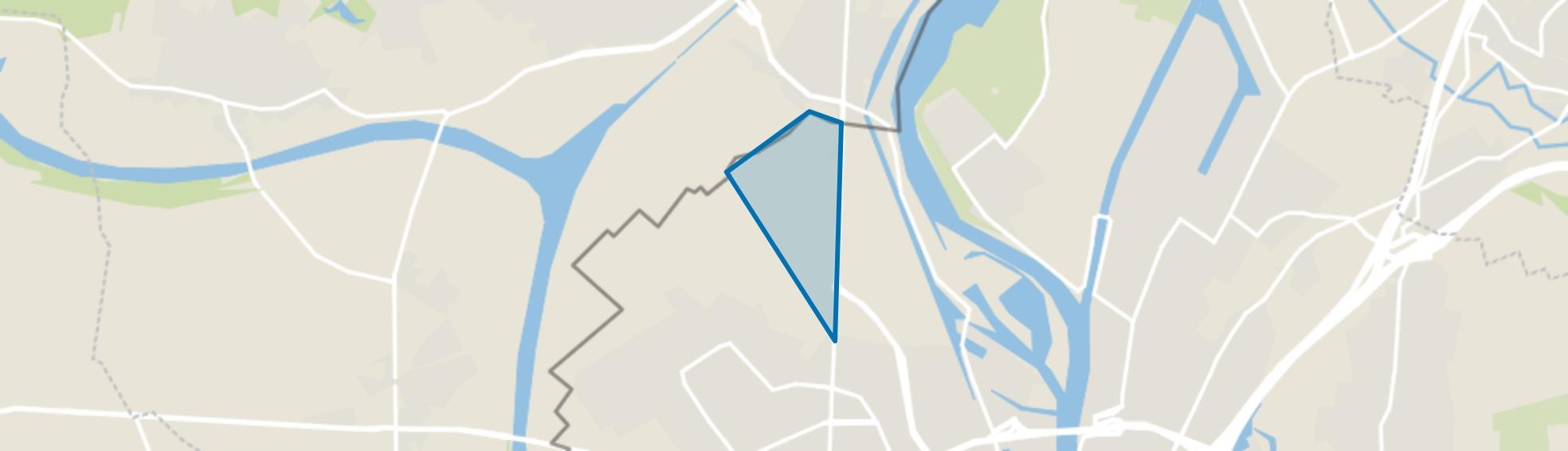 Lanakerveld, Maastricht map