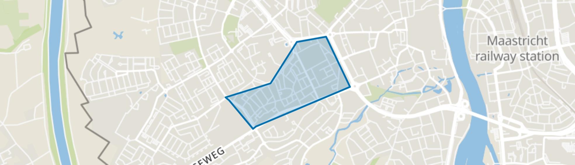 Mariaberg, Maastricht map