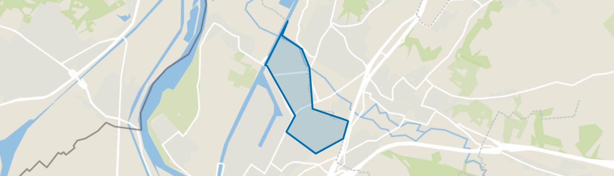 Meerssenhoven, Maastricht map
