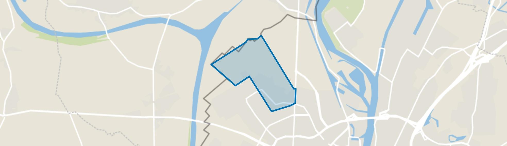 Oud-Caberg, Maastricht map