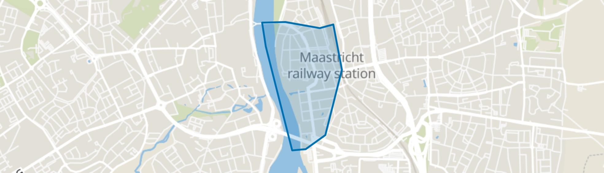 Wyck, Maastricht map