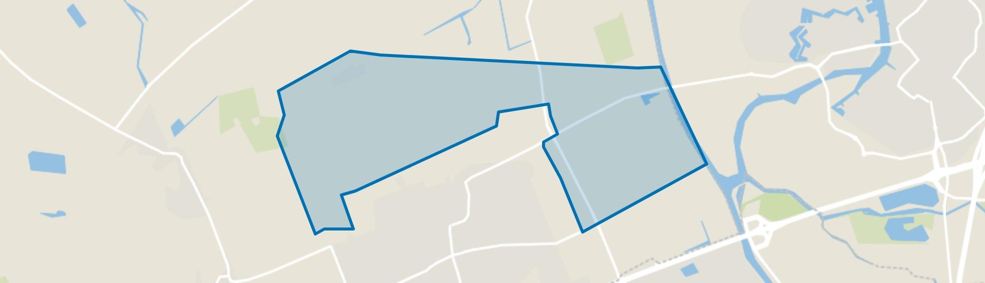 Verspreide huizen Made, Made map