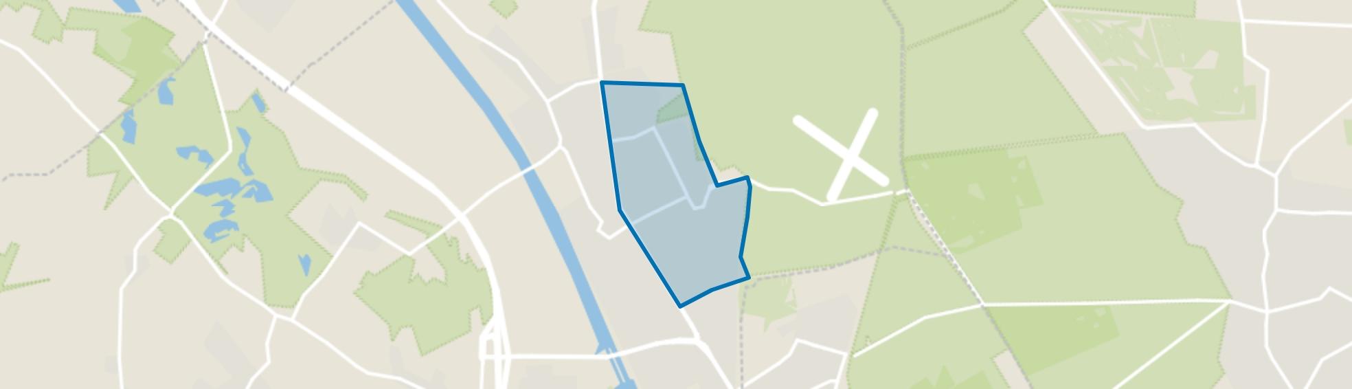 Malden-Oost, Malden map