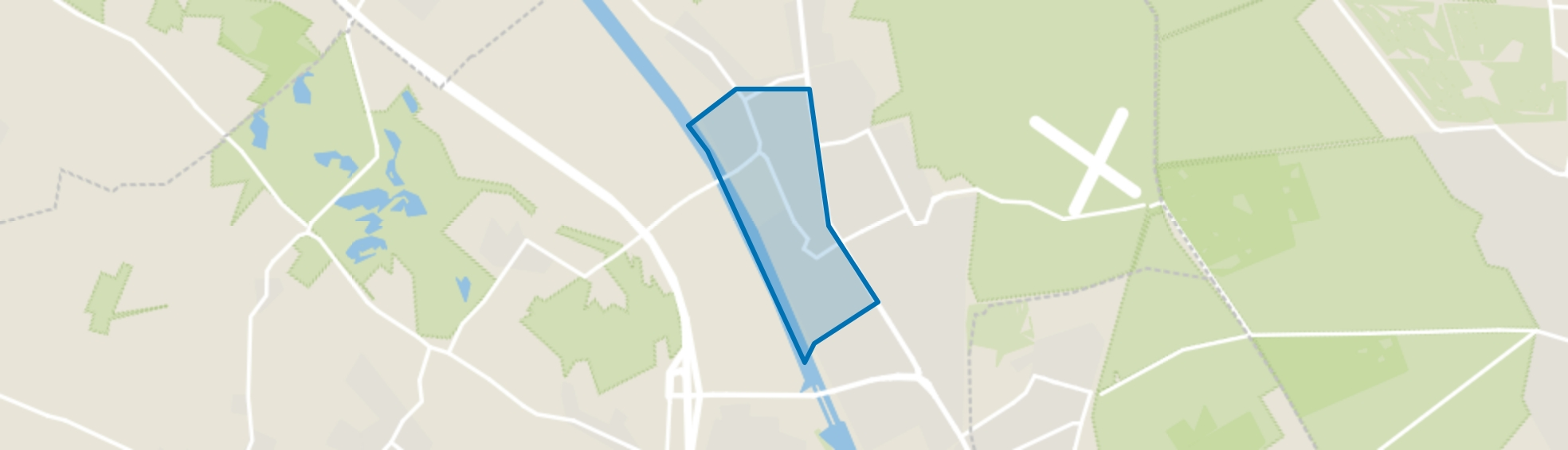 Malden-West, Malden map