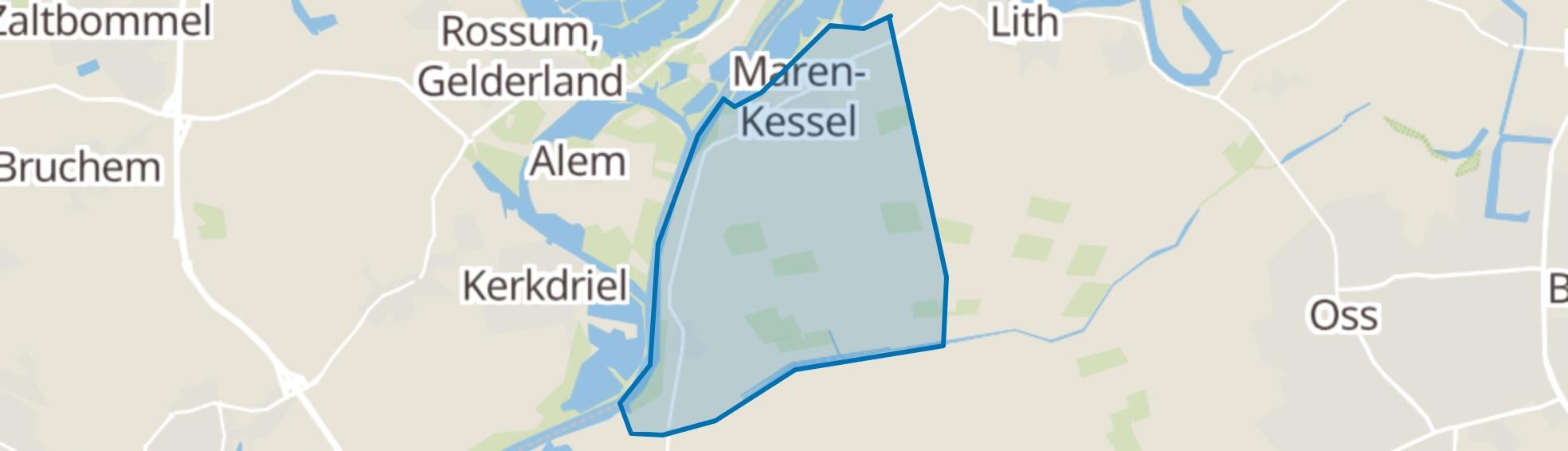 Maren-Kessel map