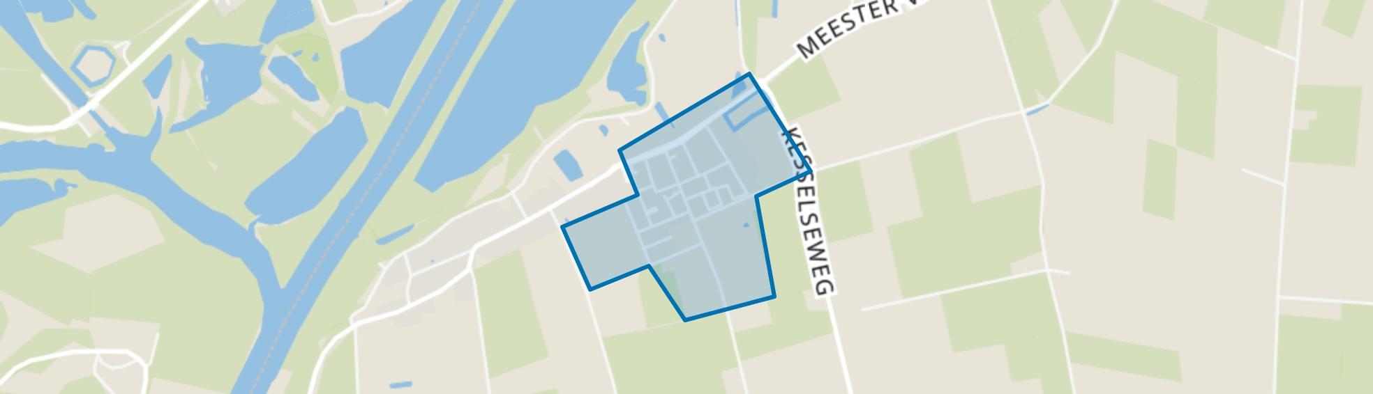 Maren-Kessel, Maren-Kessel map