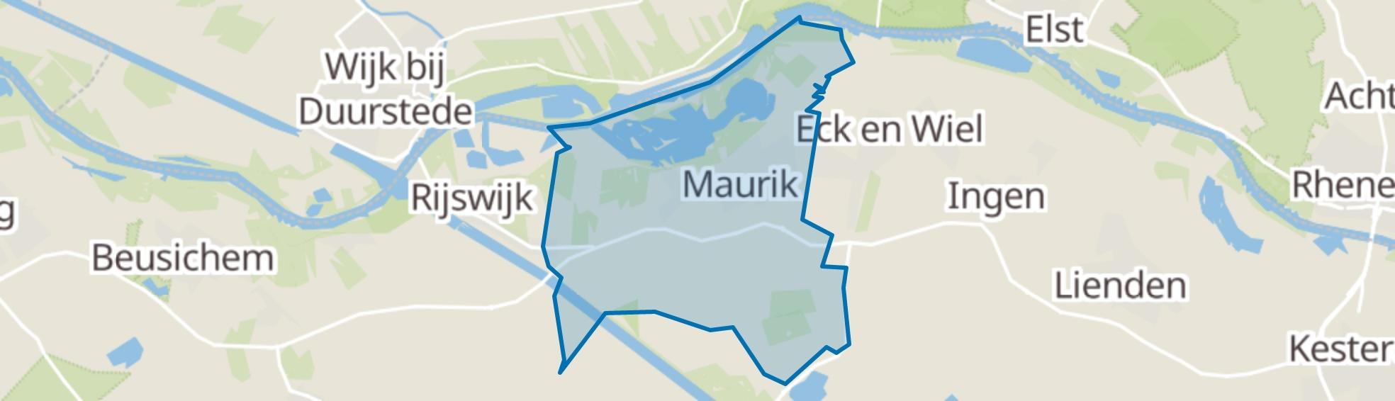 Maurik map