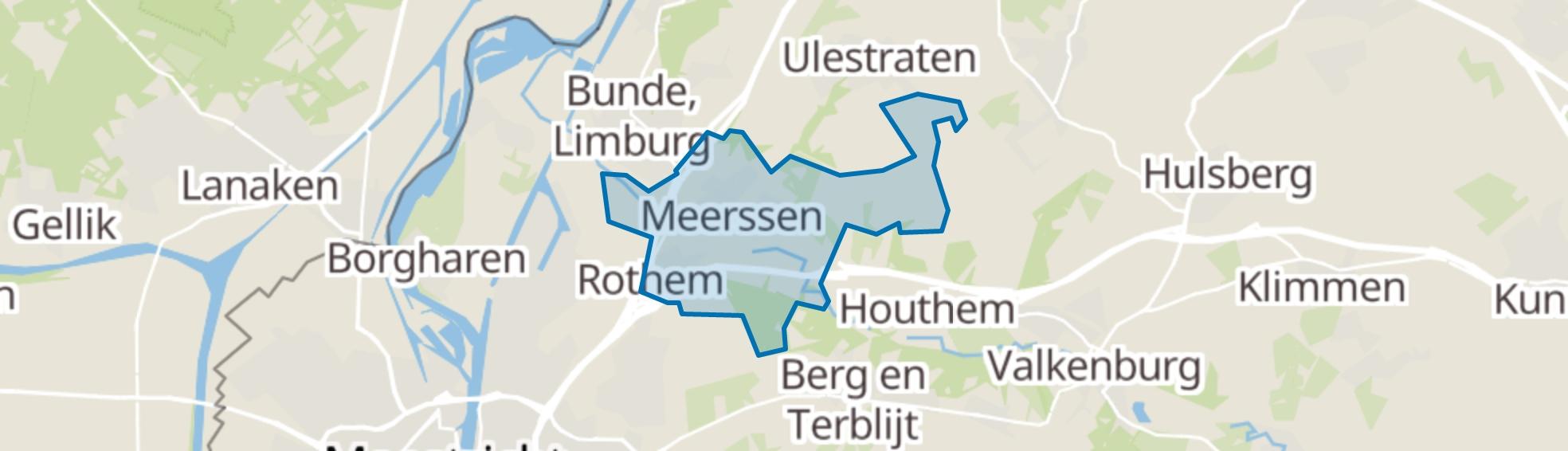 Meerssen map