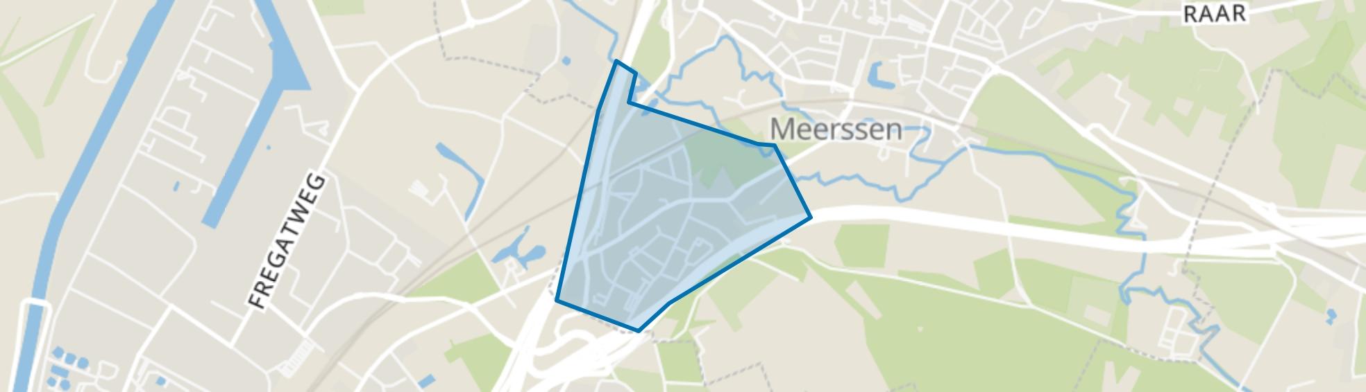 Rothem, Meerssen map