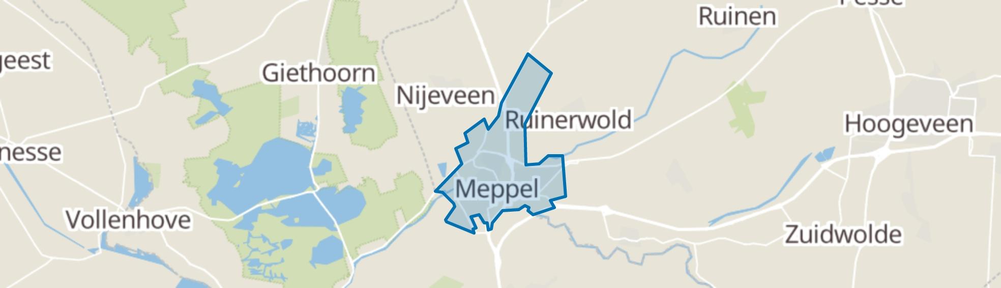 Meppel map