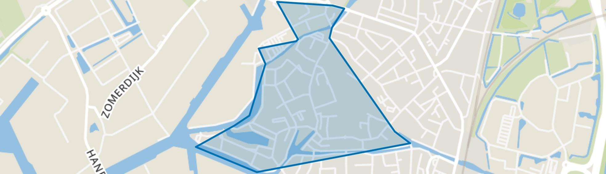 Historisch Centrum, Meppel map