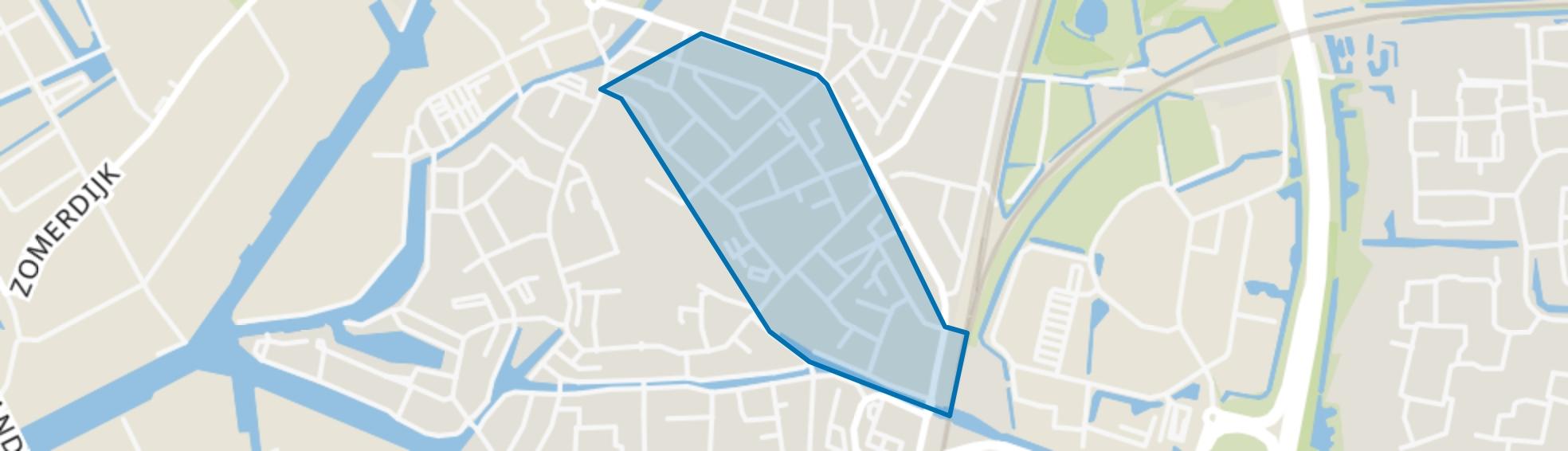 Indische buurt, Meppel map