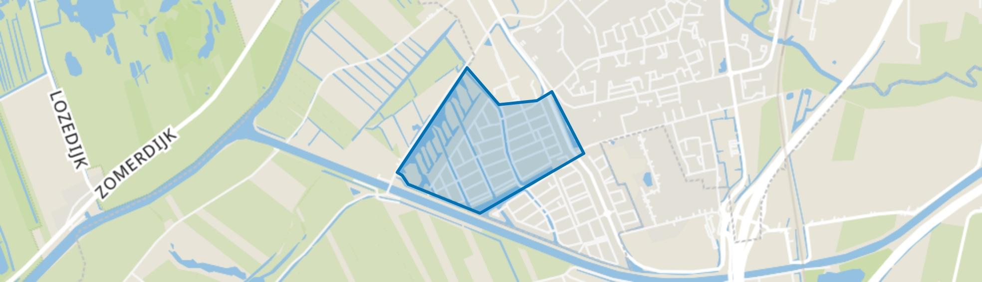 Plantenbuurt, Meppel map