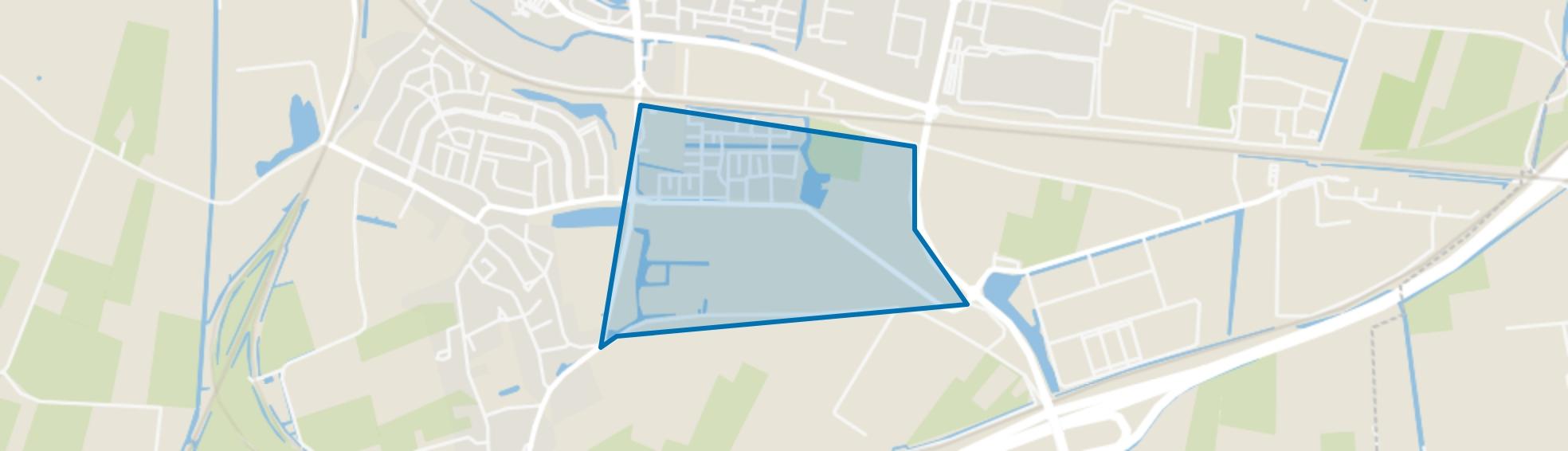 Meteren - De Plantage, Meteren map