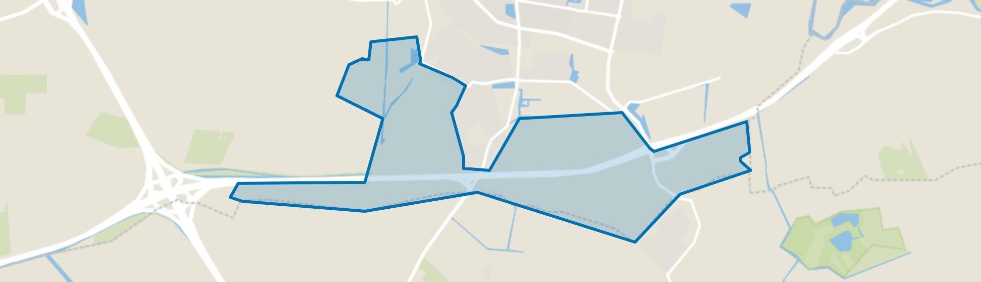 Meteren e.o., Meteren map