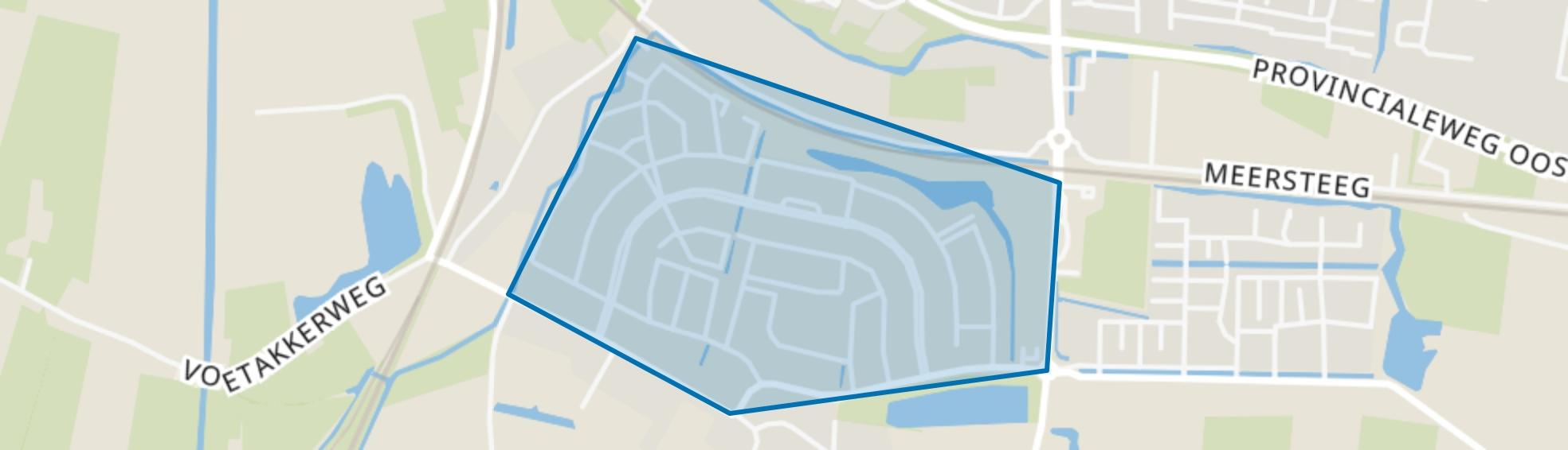 Meteren - Kalenberg, Meteren map