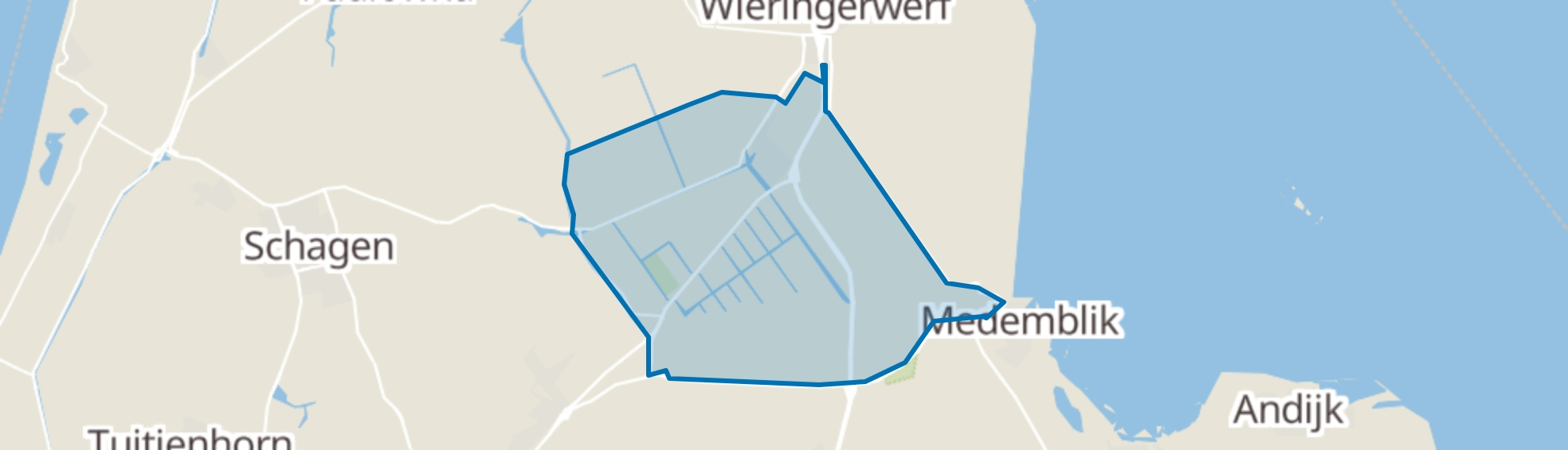 Middenmeer map