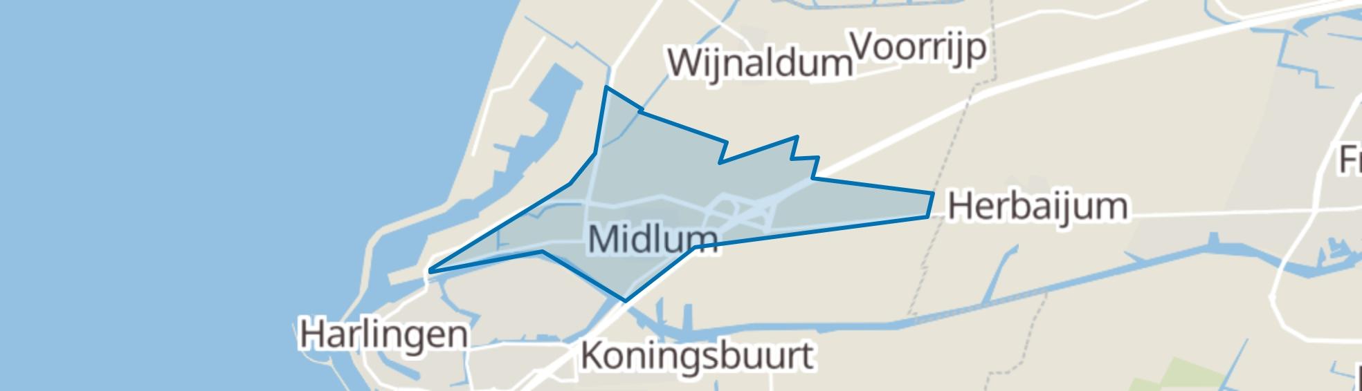 Midlum map